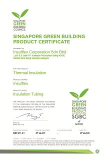 (Tubing) Singapore Green Building Certification (24/7/2019)