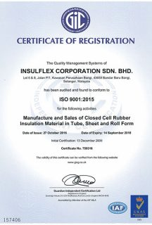ISO 9001:2015 (14/9/2018)
