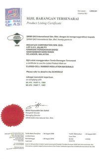 SIRIM QAS Certification (30/8/2018)