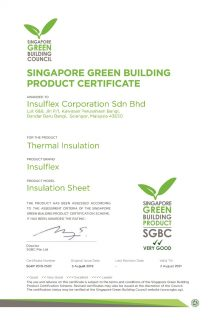 Insulflex Corporation Sdn Bhd (Insulation Sheet)